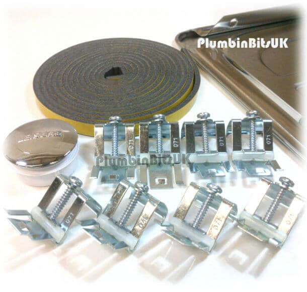 Leisure Stainless Steel Kitchen Sink Fixing Pack