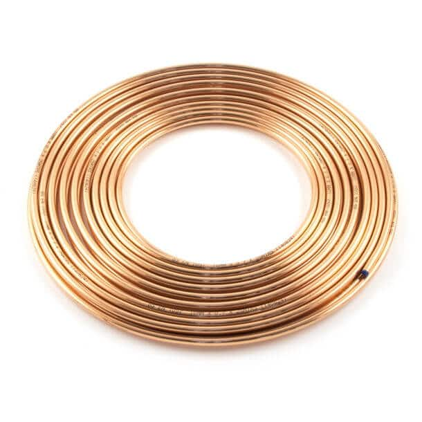 25 Metre Coil of 8mm TW Copper Tube