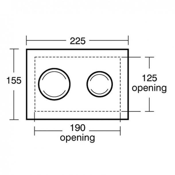 Ideal Standard S4399AA Measurements 1