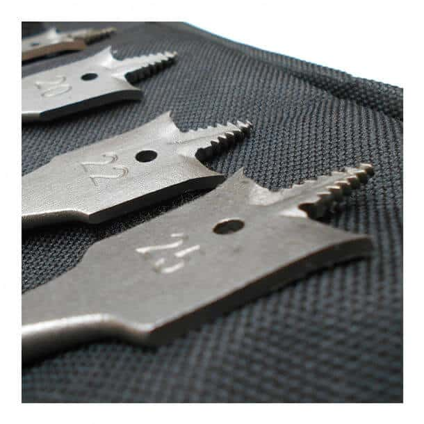 Bosch 6 Piece Flat Bit Wood Set Wallet 2608587793