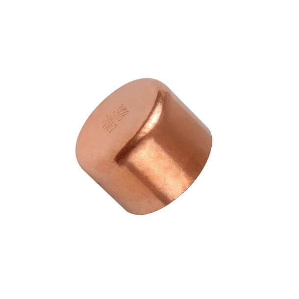 endfeed 15mm copper stop end