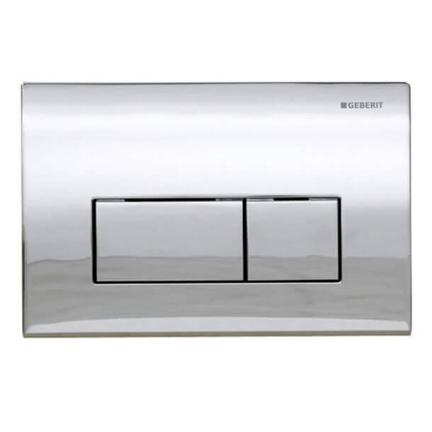 Geberit Kappa50 Flush plate Actuator Gloss Chrome 115.260.21.1