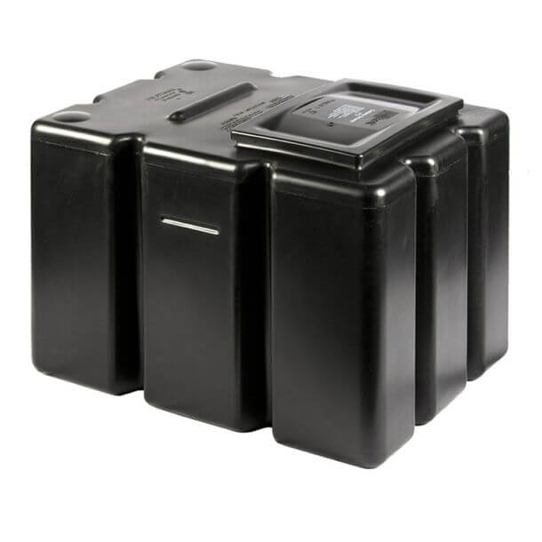"""polytank 25 gallon cold water storage tank 27"""" x 20"""" x 20"""""""