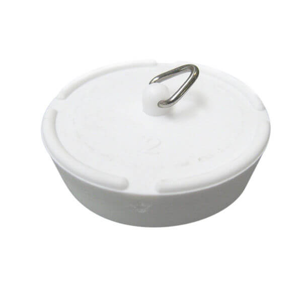 51mm White Rubber Waste Plug