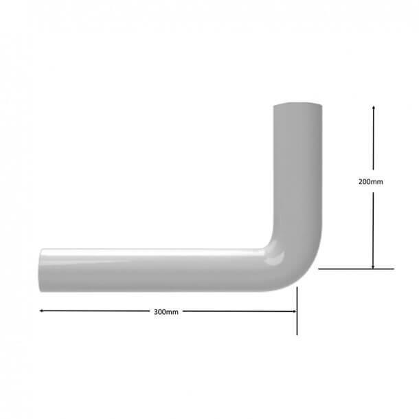 Siamp flush pipe measurements