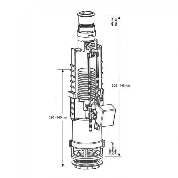 siamp skipper 45 dual flush valve 32456010 measurements