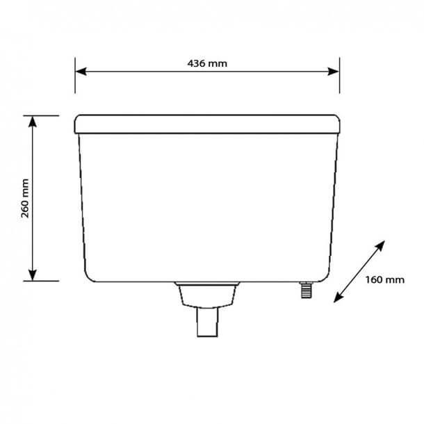 siamp trueflow concealed cistern measurements