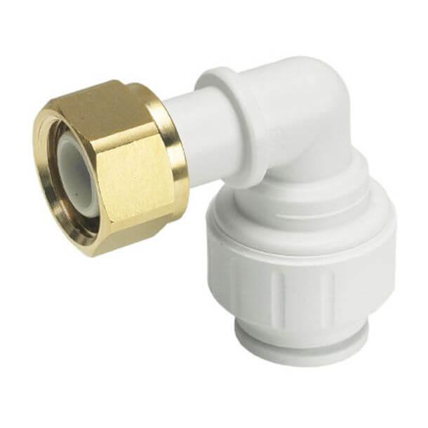 """speedfit 15mm x 1/2"""" bent elbow tap connector"""