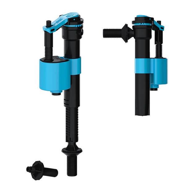 Viva Skylo Unifill 4 in 1 Side & Bottom Inlet Float Valve Plastic Thread UNI/P