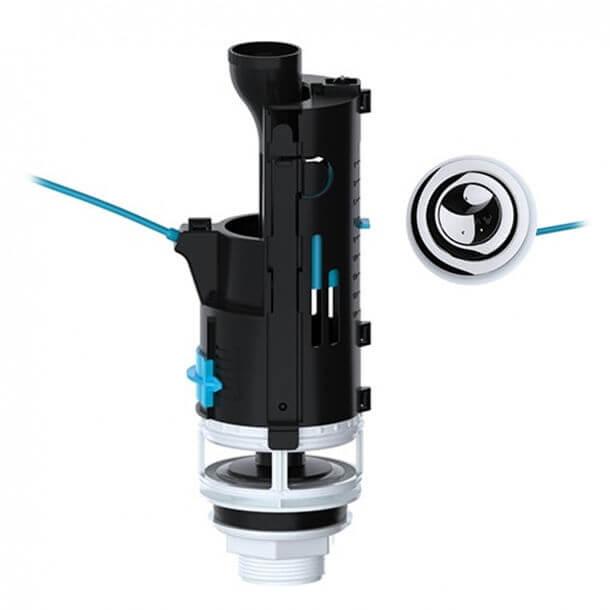 Viva Skylo Dual Flush 570mm Cable Flush Valve SKY015 02