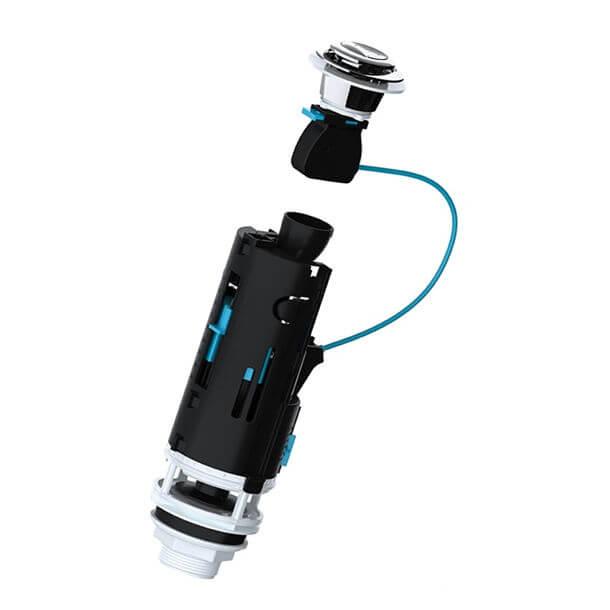 Viva Skylo Dual Flush 300mm Cable Flush Valve SKY005 01