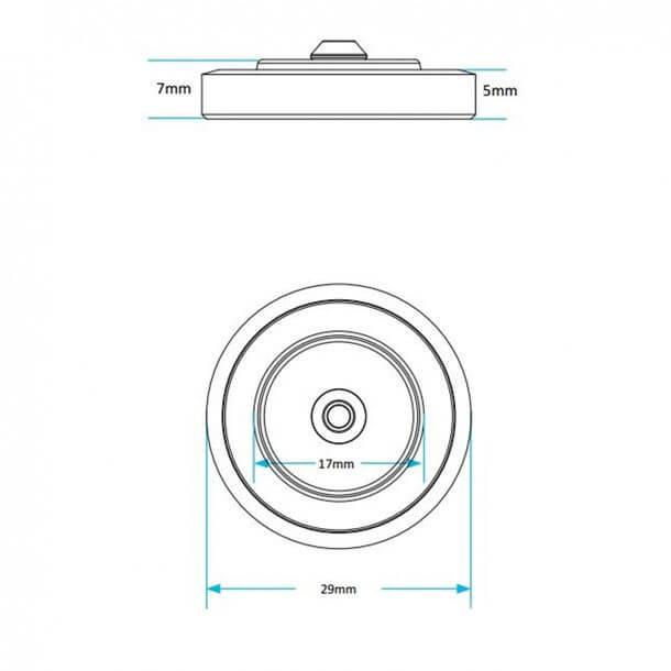 Viva Skylo Unifill Inlet Valve Diaphragm Washer PP00/D Measurement