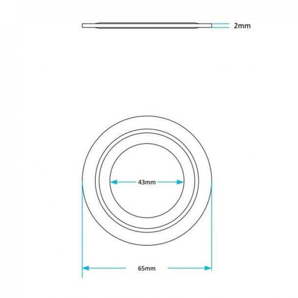 SKY095 Flush valve seal