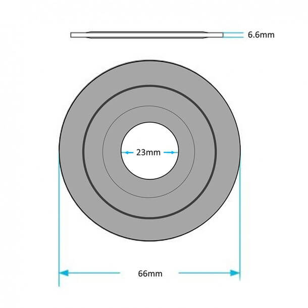 10717748 Seal measurements