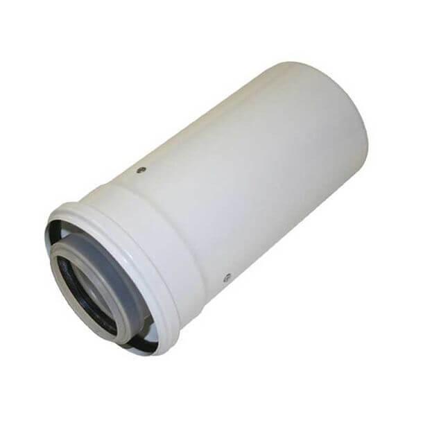 Worcester 60/100mm Short Flue Pipe 220mm Extension 7716191133
