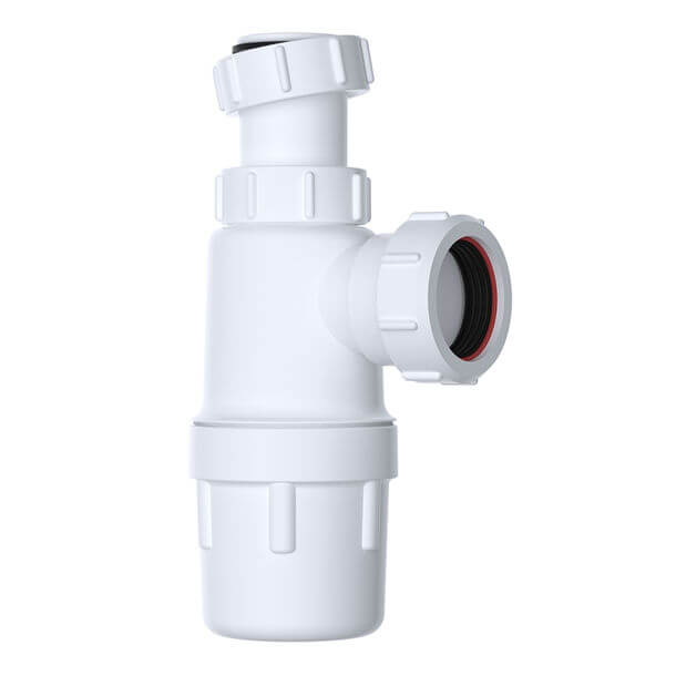 """Polypipe 1-1/4"""" Telescopic Bottle Trap WPT47"""