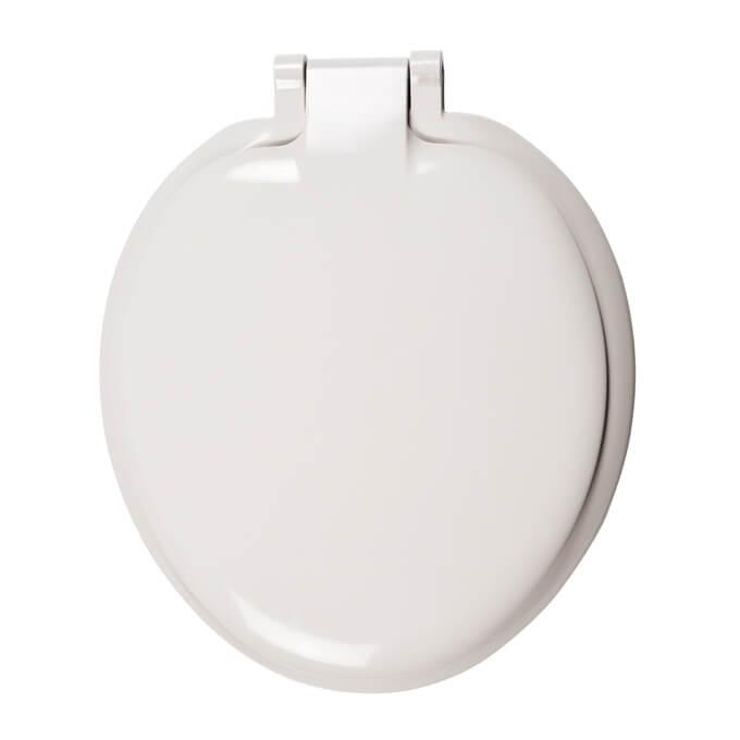 Celmac Sonata Toilet Seat & Cover White SS011WH