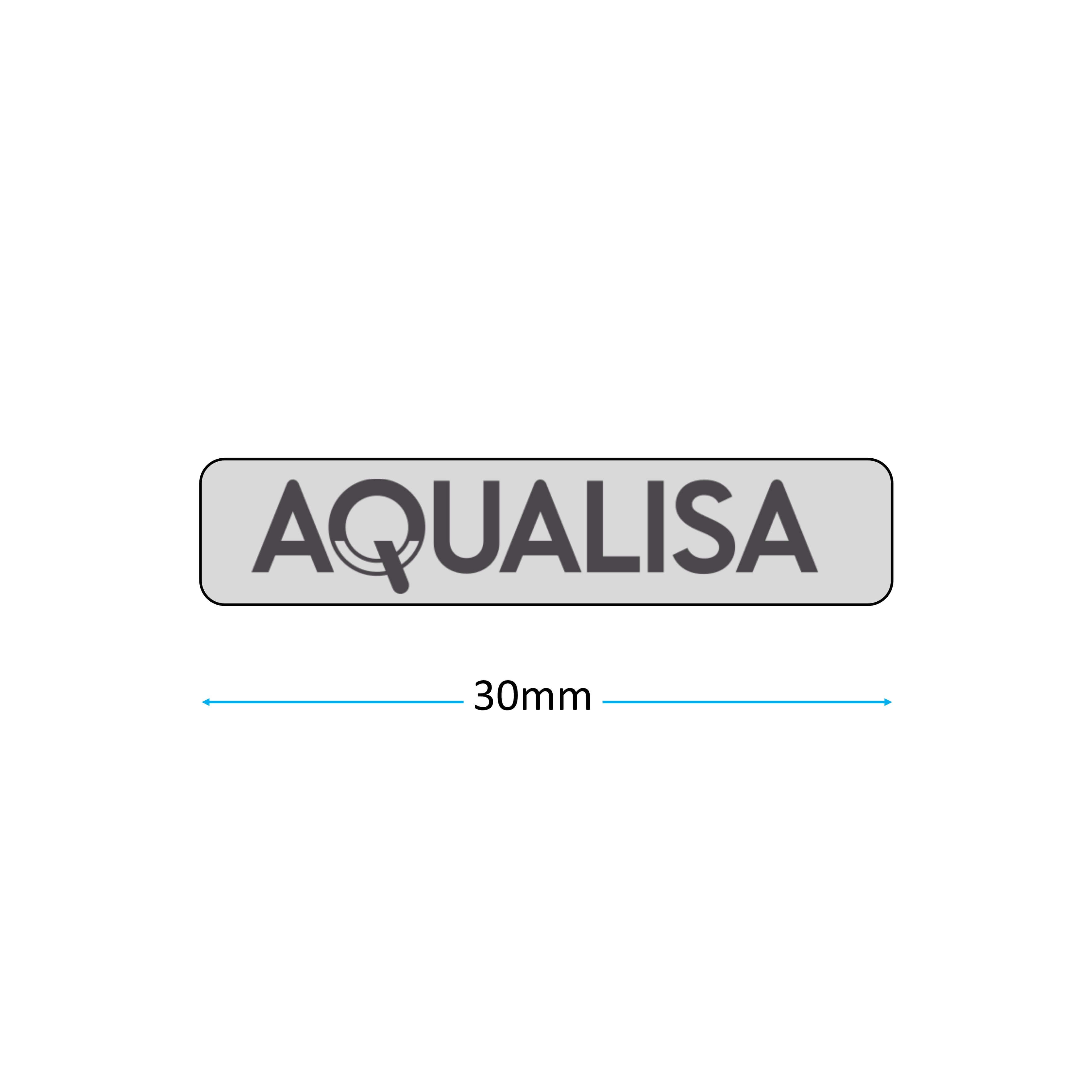 Aqualisa 164361 Badge measurement