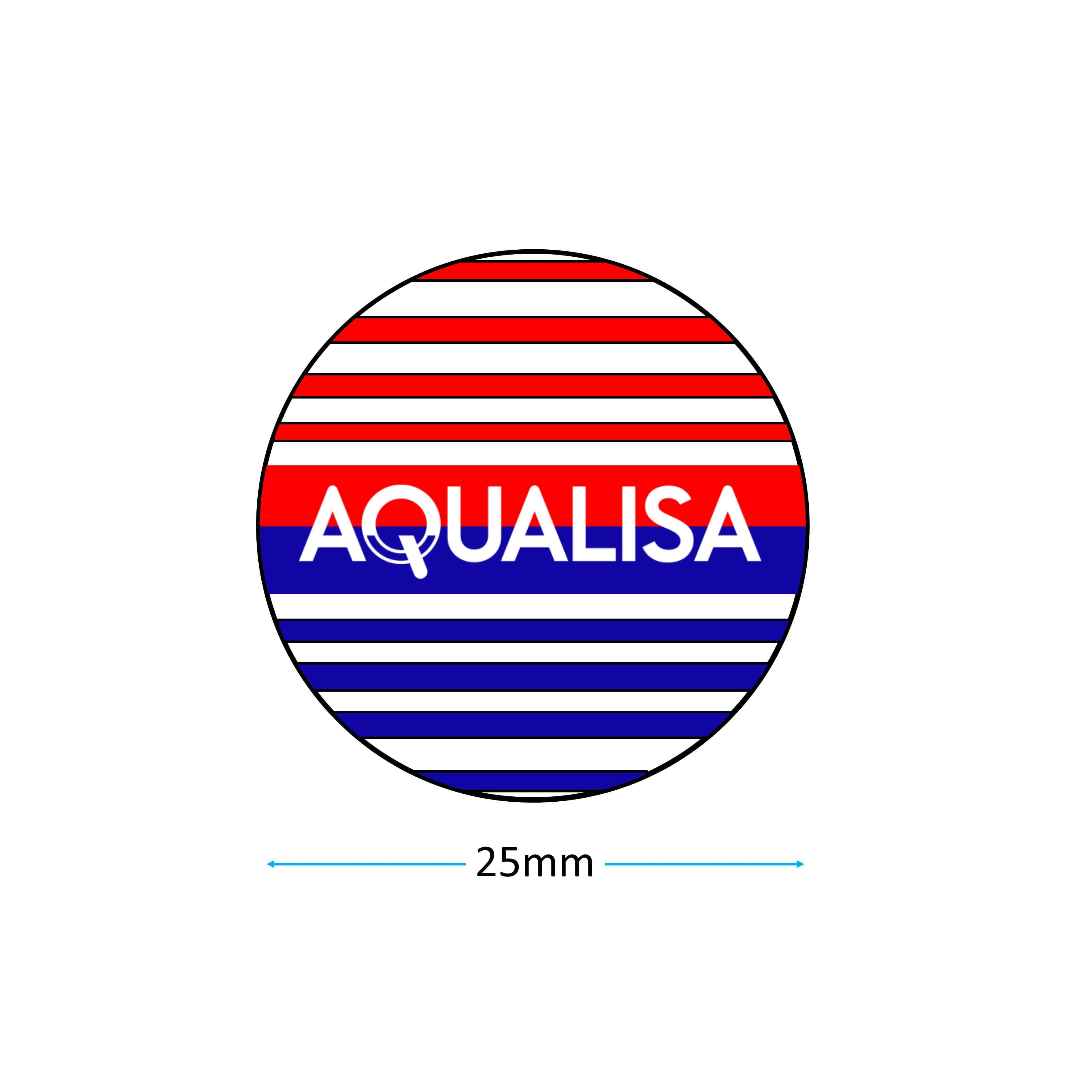 Aqualisa 166632 Badge measurement