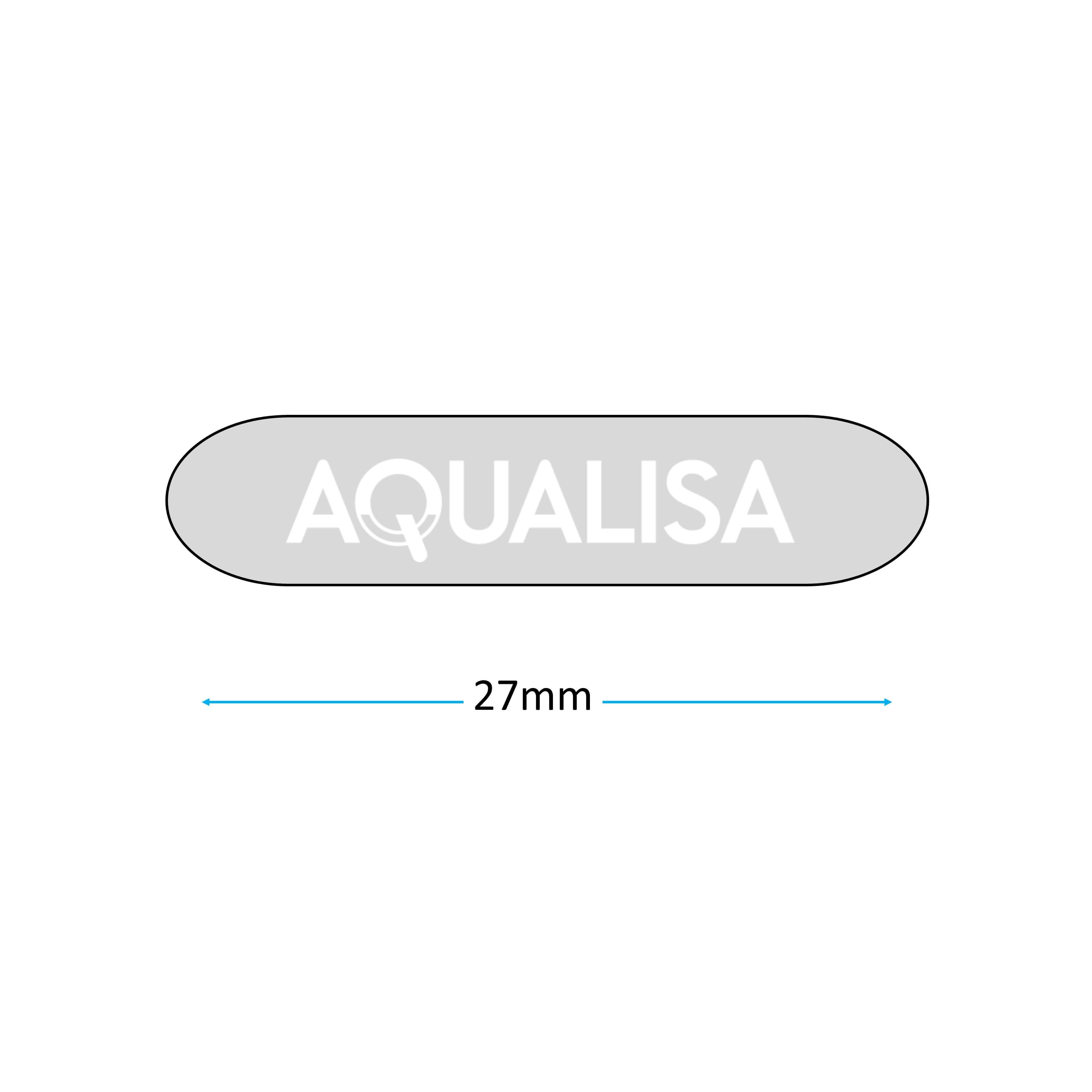 Aqualisa Badge 213024 measurements
