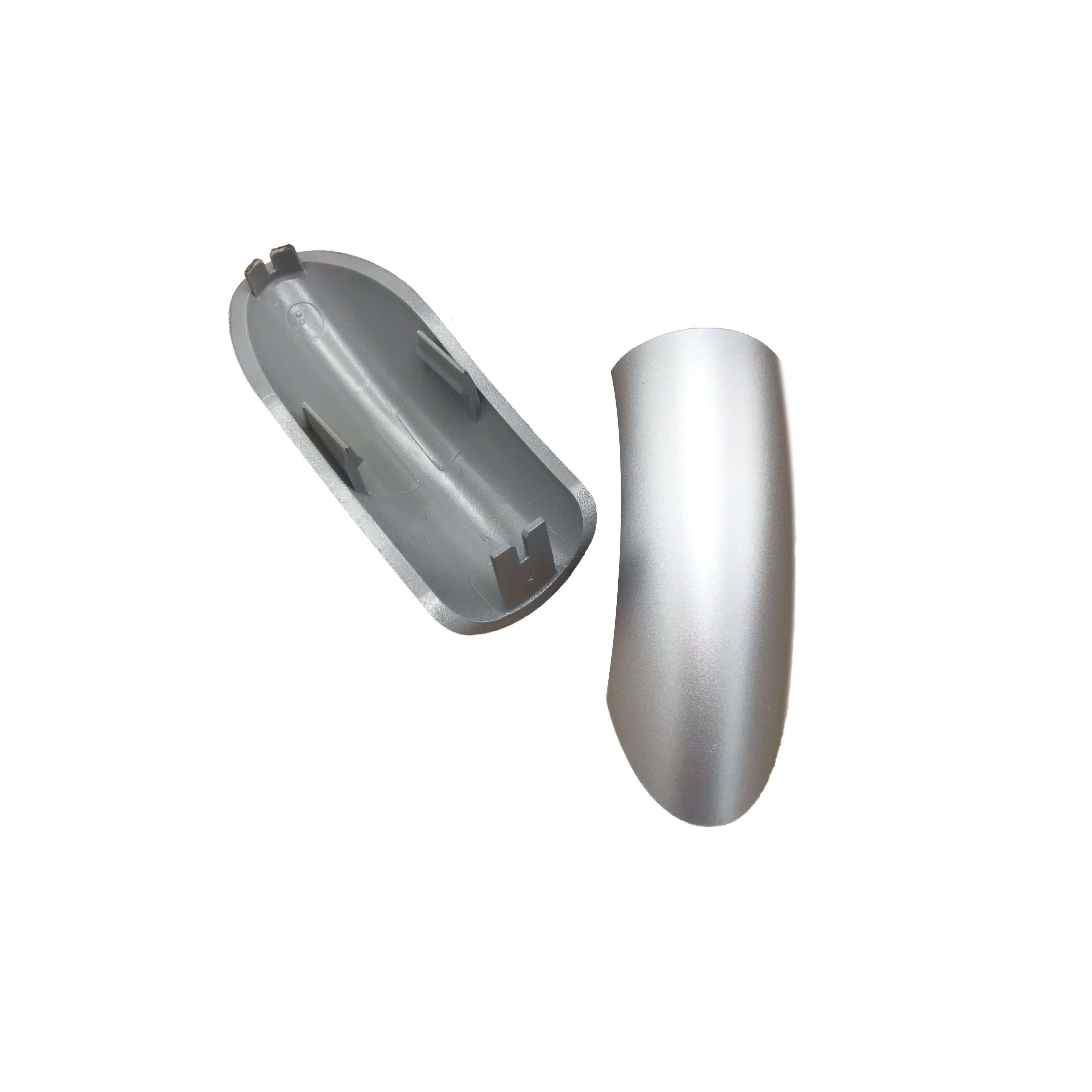 Aqualisa Rail End Cover Silver 255704