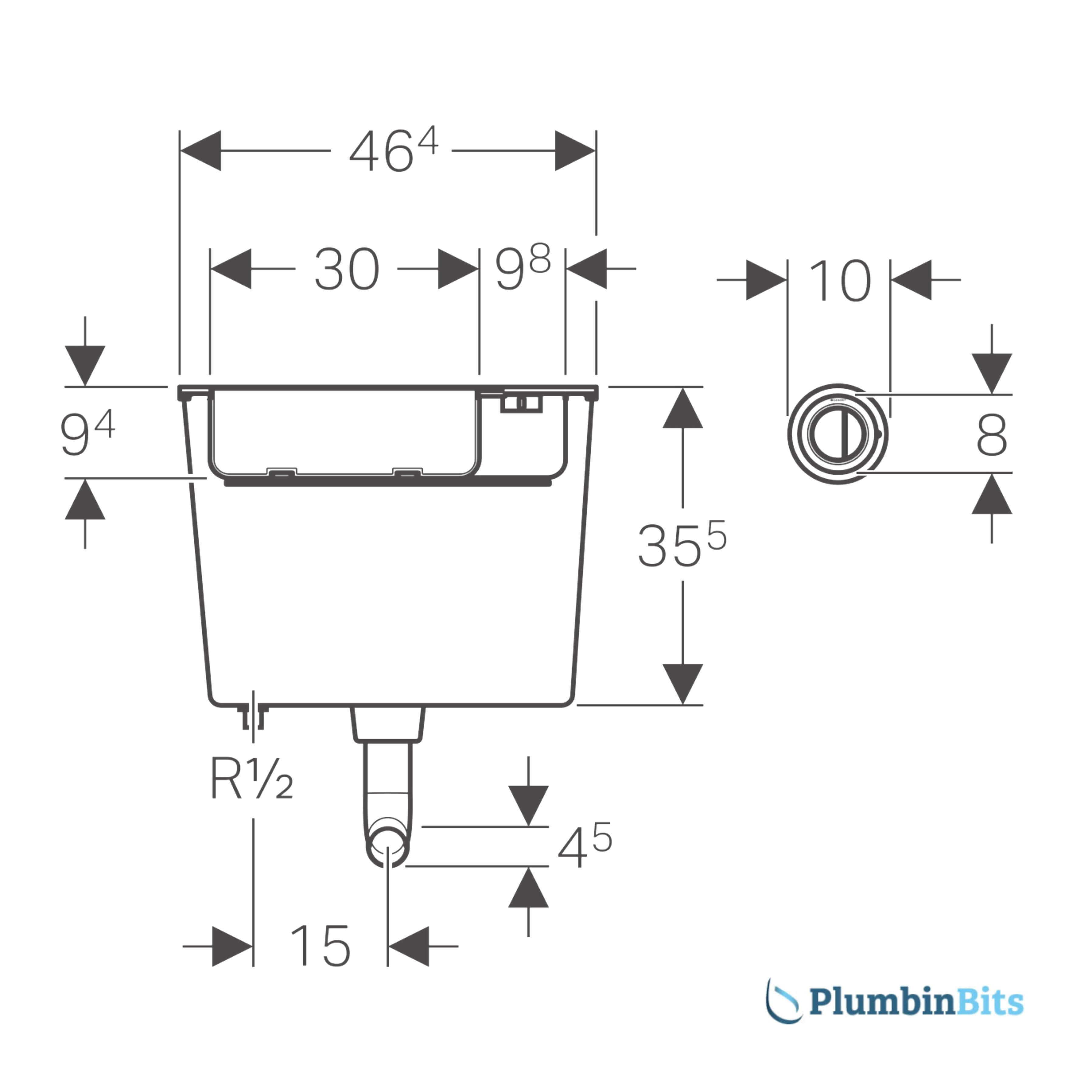 109.724.21.1 Cistern Measurement