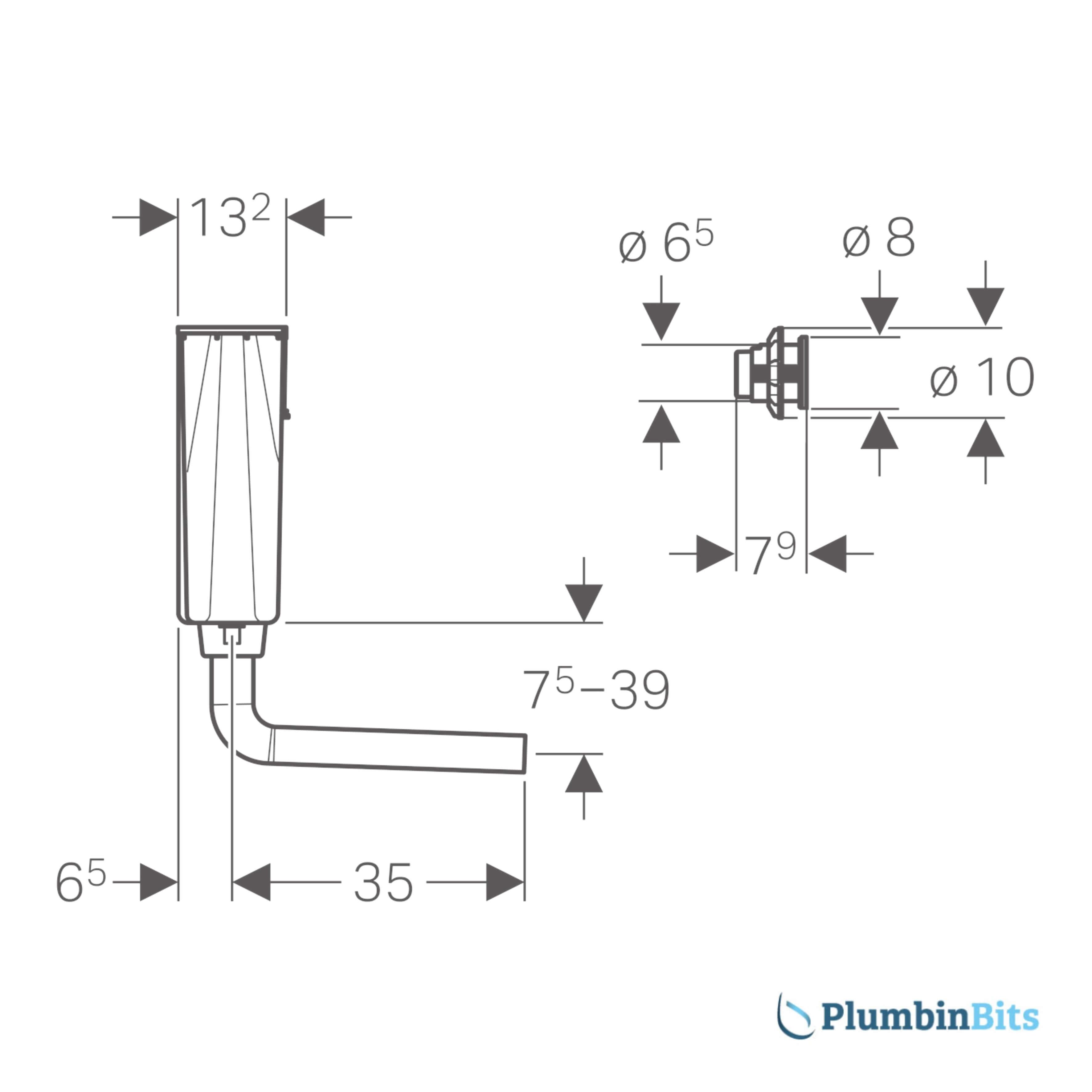 109.724.21.1 Cistern measure - side