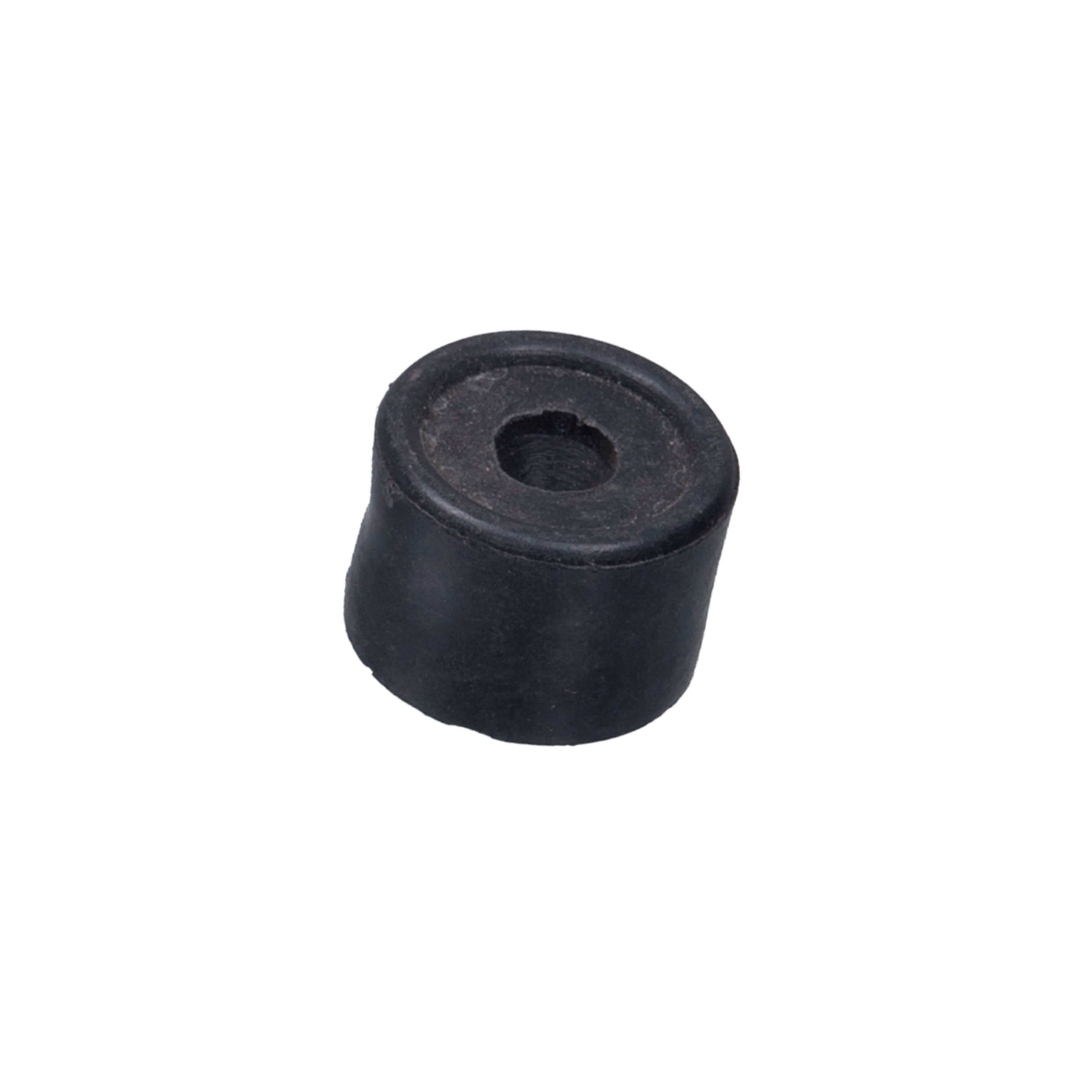 Black 35mm Rubber Door Stop 8782