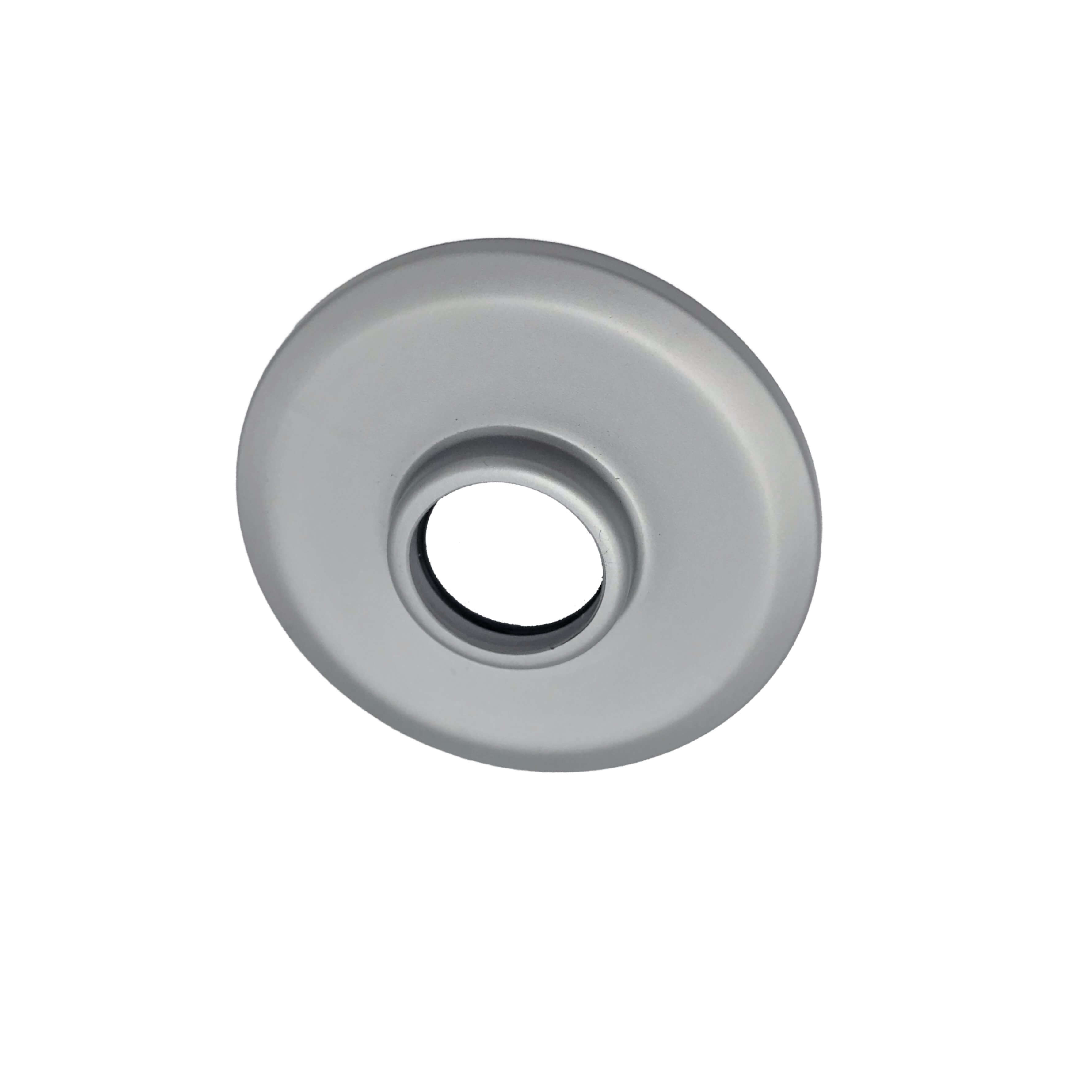 Aqualisa Rail Ceiling Cover Plate Silver 223210