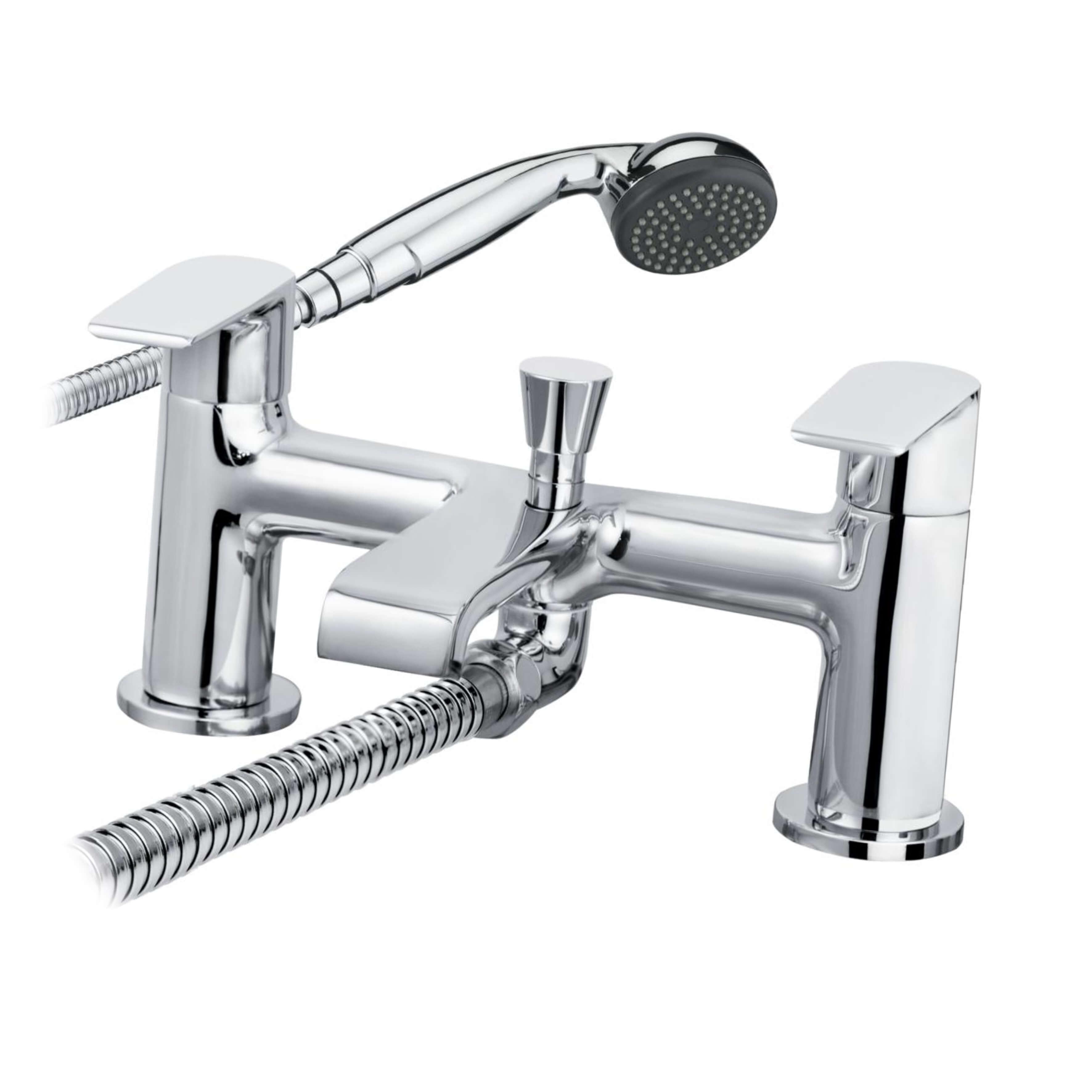 Cascade Cadence Bath Shower Mixer Chrome 007.21913.3