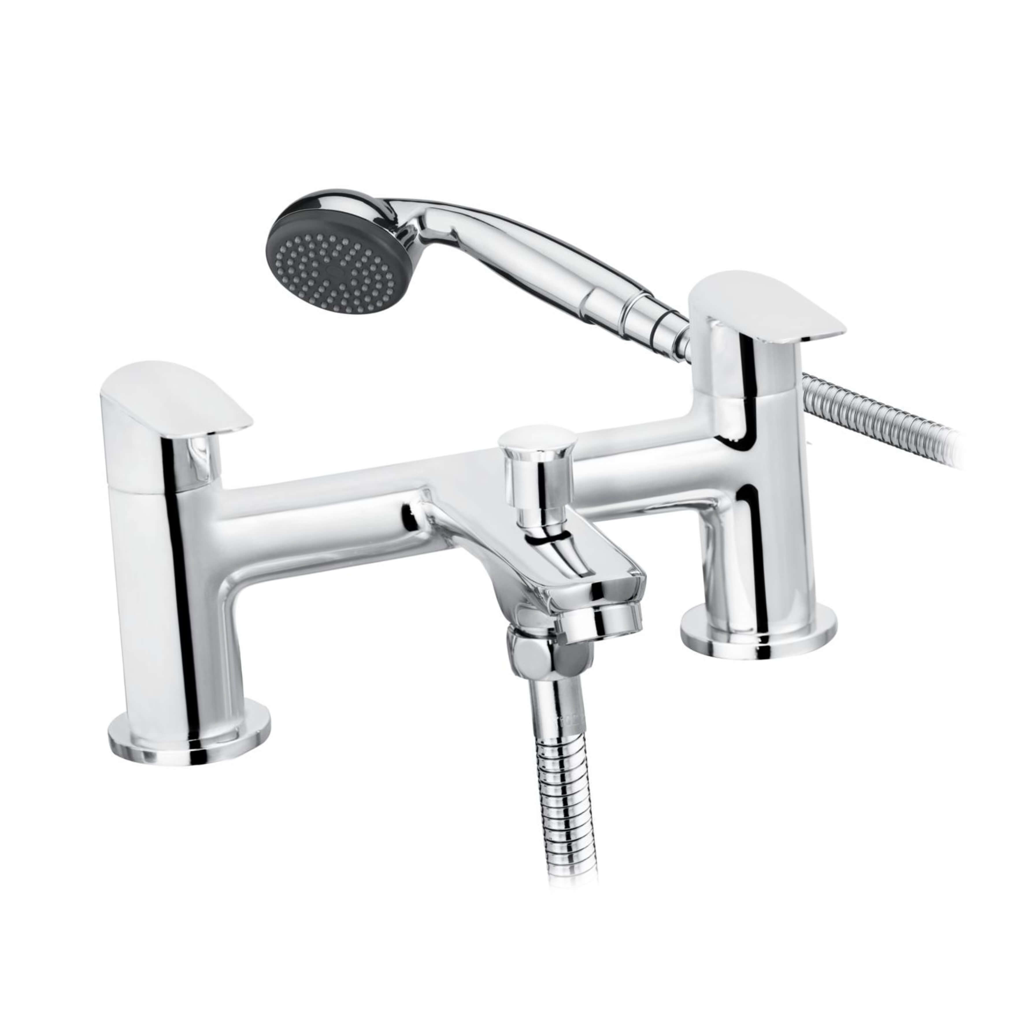 Cascade Compass Bath Shower Mixer Chrome 004.21913.3