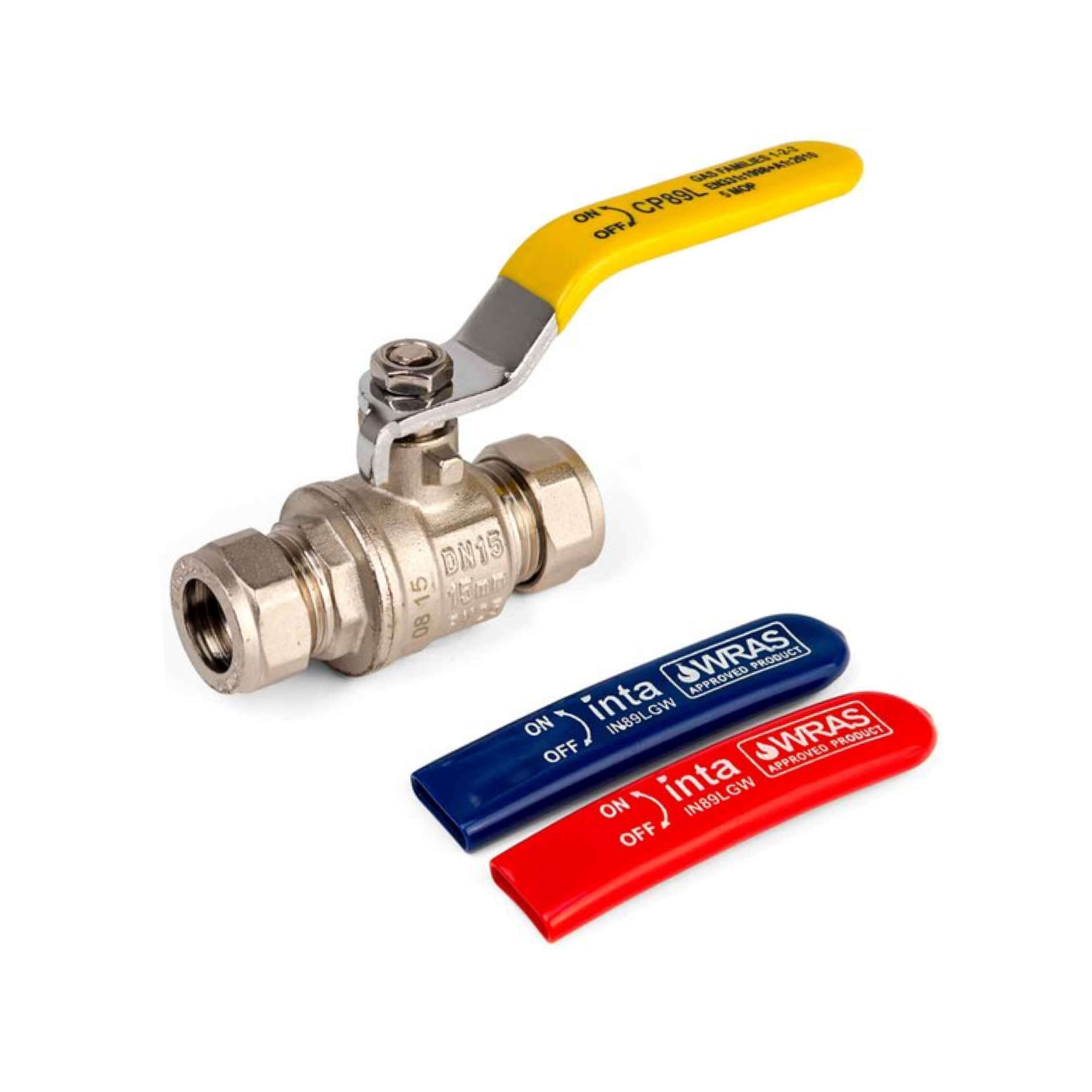 Inta 15mm Lever Valve IN89ALGWC15