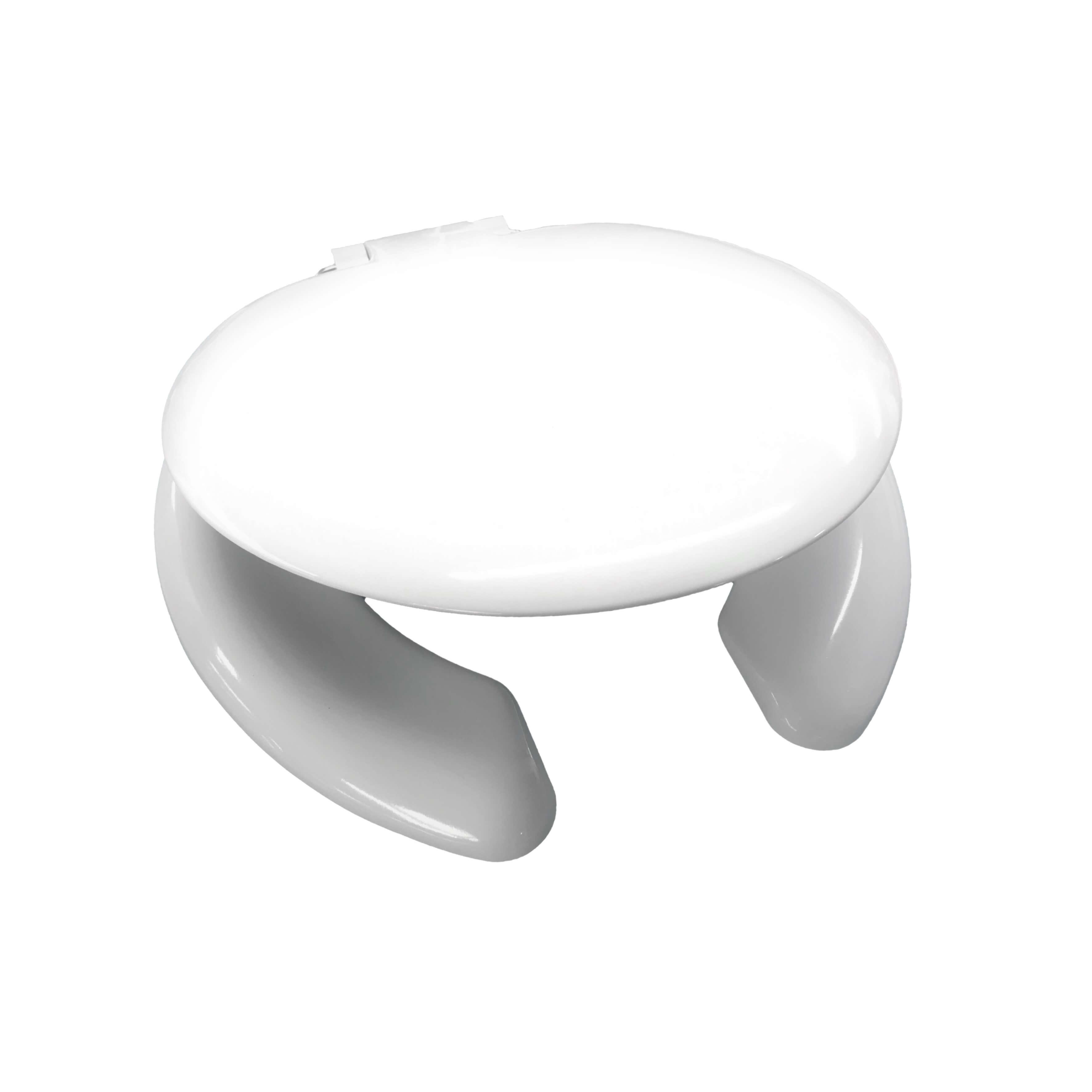 Celmac Crescent Seat & Cover White SCR12WH