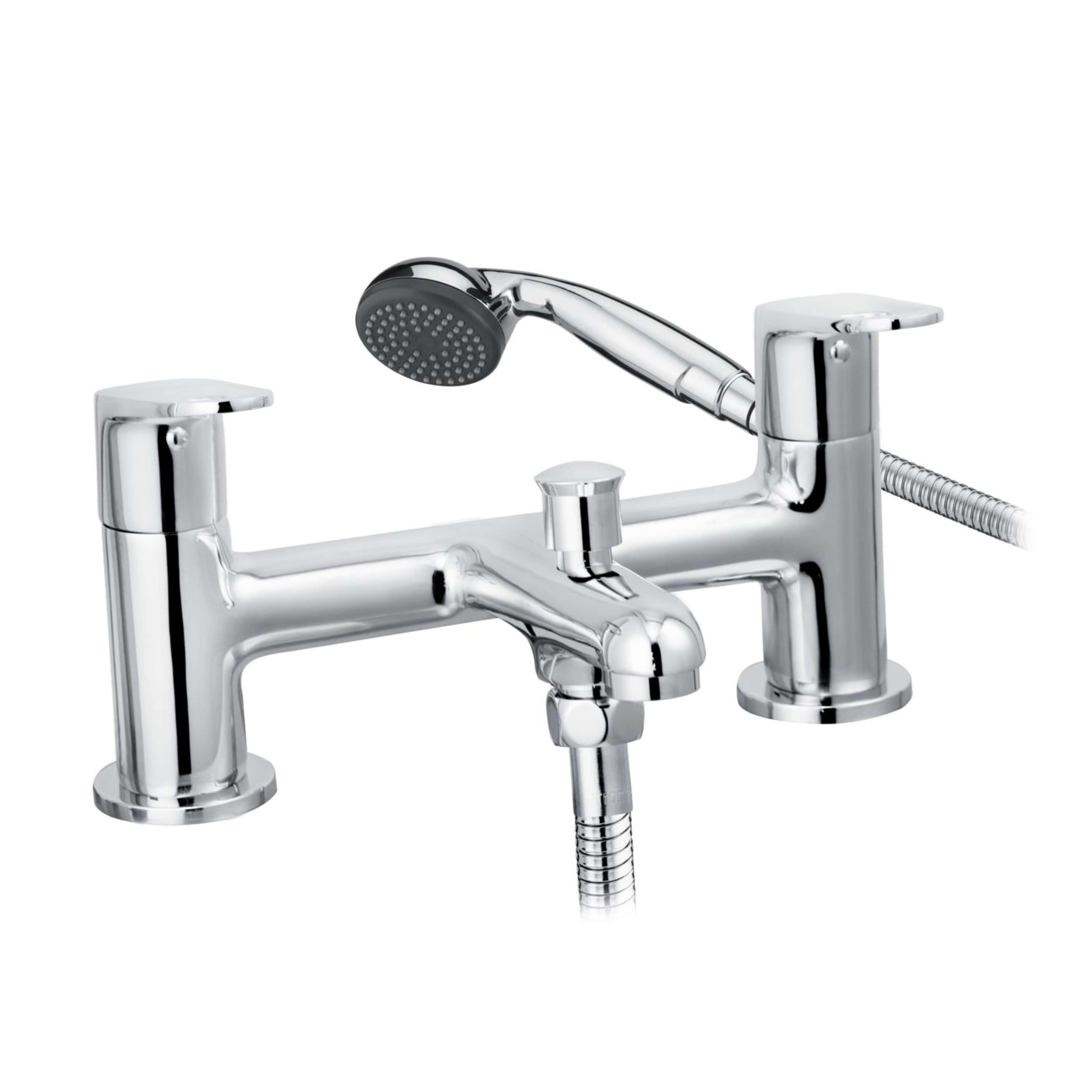Cascade Spiral Bath Shower Mixer Chrome 001.21913.3