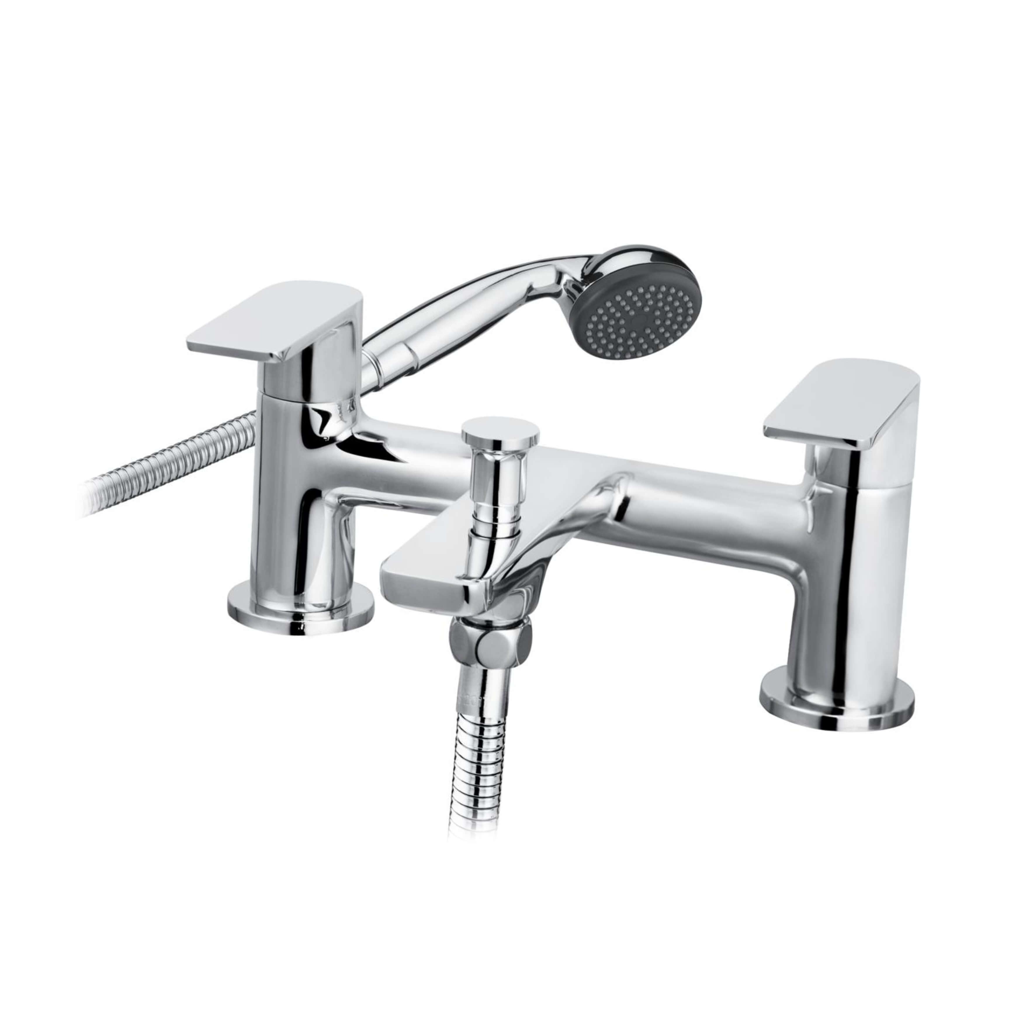 Cascade Trapeze Bath Shower Mixer Chrome 008.21913.3