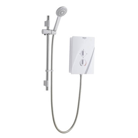 Bristan Cheer 8.5kw White Electric Shower