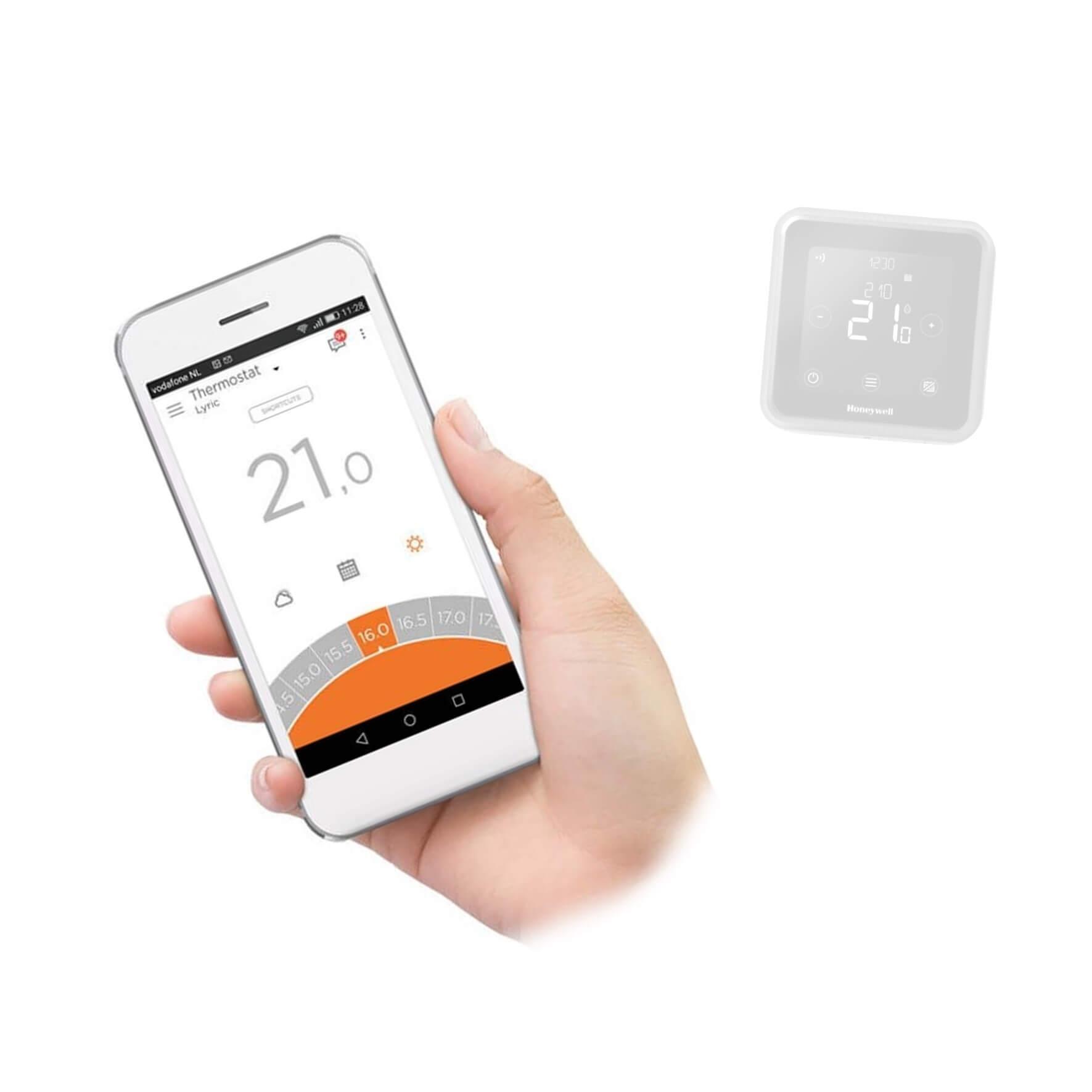 Honeywell T6R Lyric Smart App Control