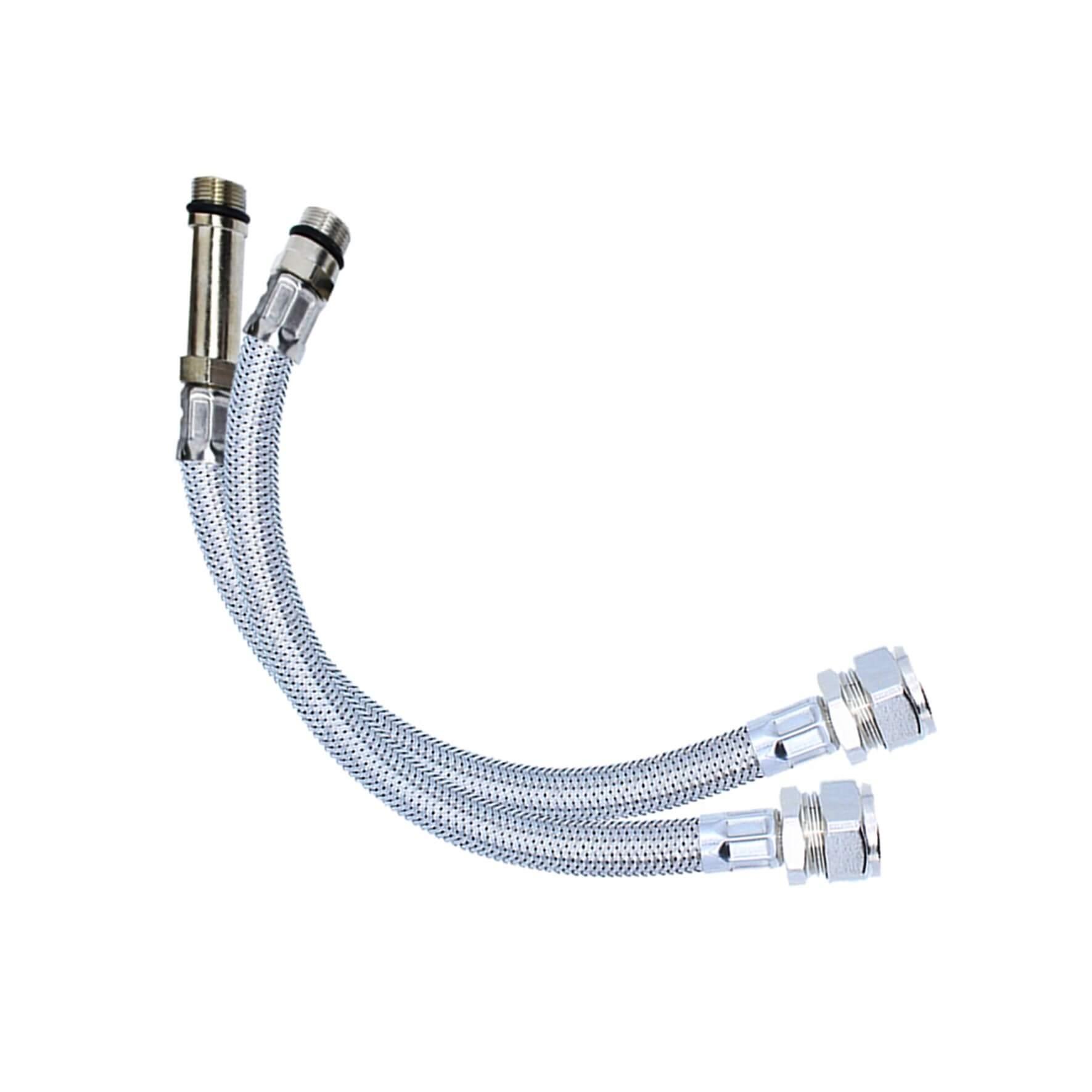 Viva M12 Flexible Tap Connector 300mm SSH8