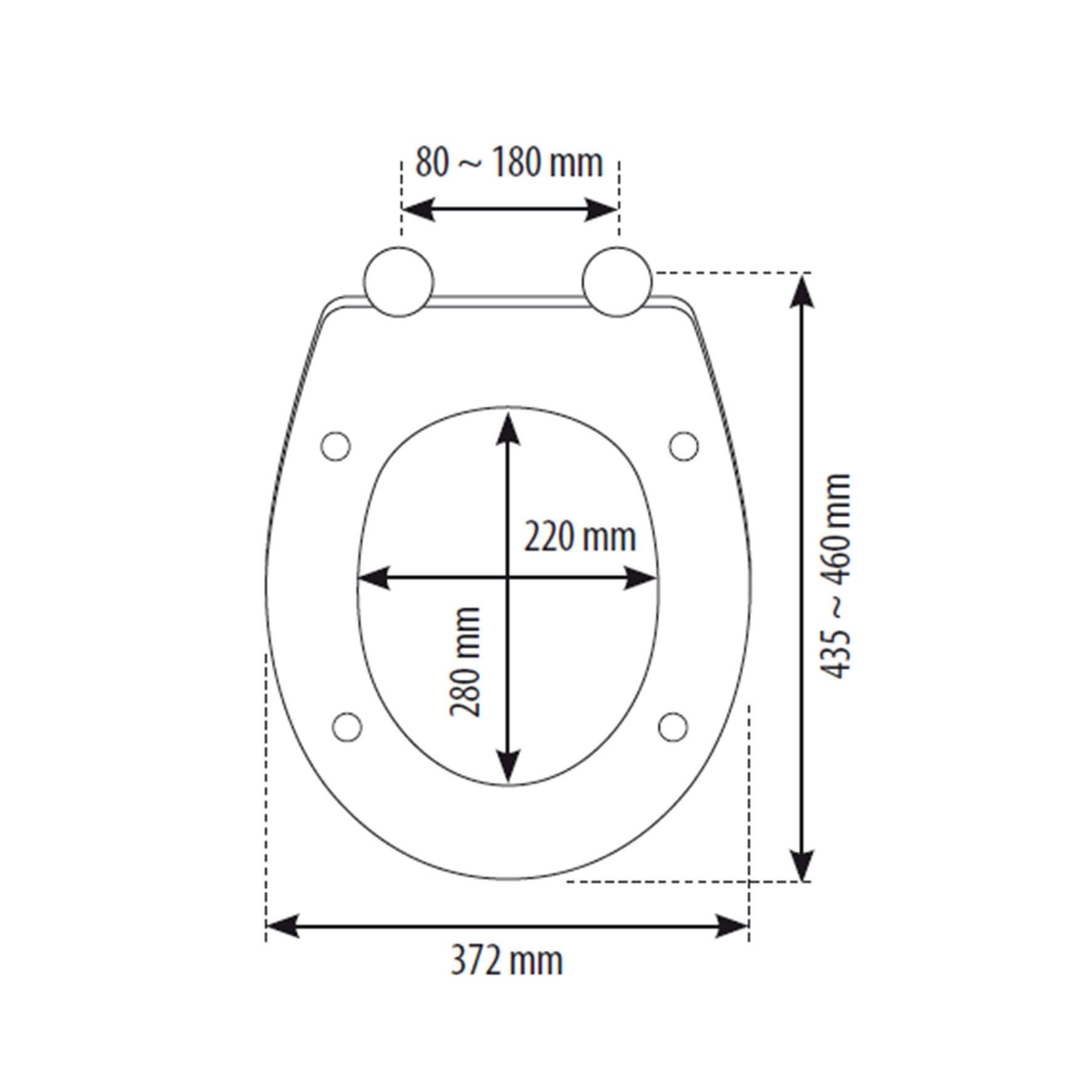 Siamp 10005427 Mougins Seat Measurements